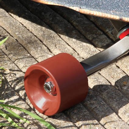 Chestnut Brown Pigmented Skateboard Wheel